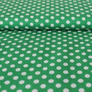 Bumbac – White dots on green