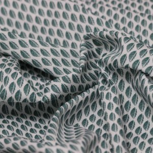 Poplin Bumbac – Green leaves