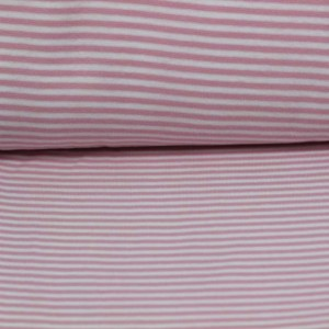 Material Rib –  Light pink stripes