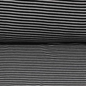 Material Rib –  Black stripes