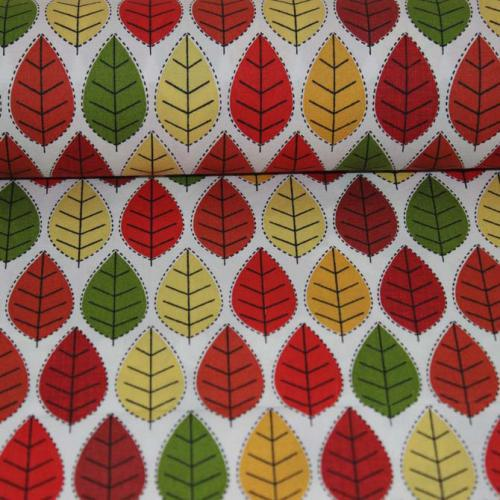 Poplin bumbac – Autumn leaves
